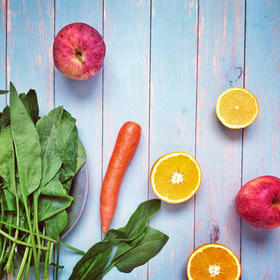 Fruits vegetables happiness article