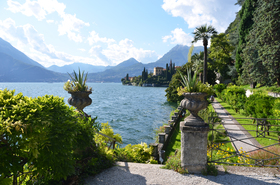 View to the lake como from villa monastero photo provided by select italy article