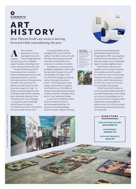 Silkwinds art history phnom penh dana ter article