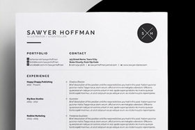 Customise cv resume template article