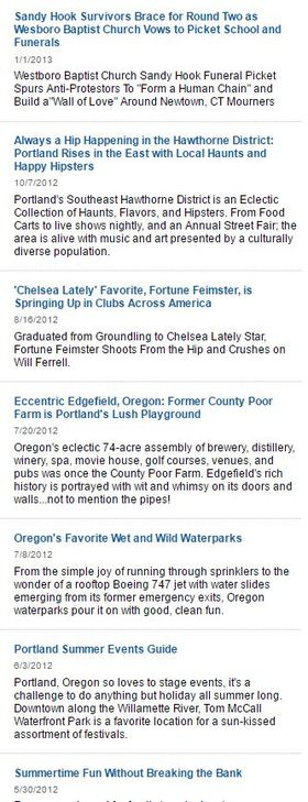 Yahoo articles 2012 article
