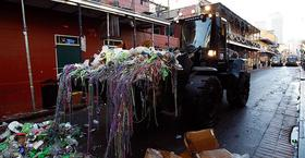 Mardi gras cleanup article