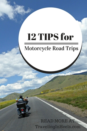 Tips for motorcycle road trips article