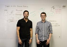Matt and glenn at whiteboard article