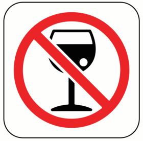 No alcohol 1 article