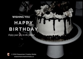 Birthday cake wishes article