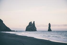 Black sand beach article