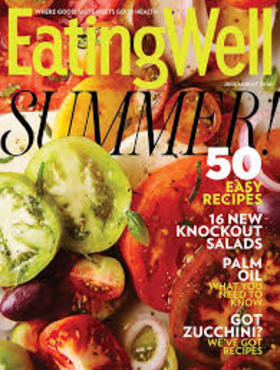 Eating well cover august article