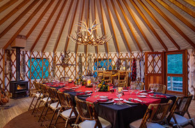 Winter yurts brush creek yurt article