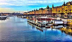 Stockholm harbor article