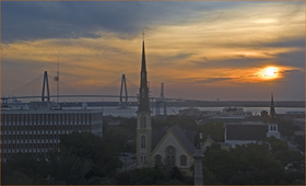 Sunrise over charleston ron cogswell flickr article