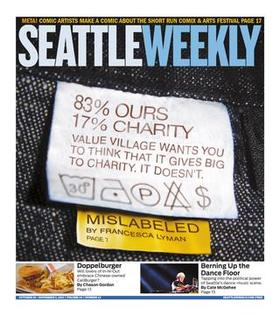 Cover  seattle weekly article