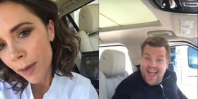 Victoria beckham and james corden on carpool karaoke article
