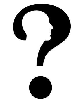 Question mark man article