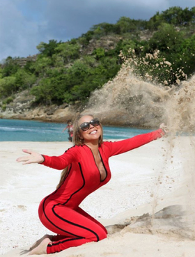 Mariah carey at sheer rocks credit mariahcareyinstagram article