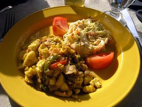 Jamaica ackee and saltfish  credit wikimedia.org article