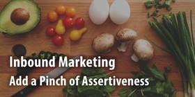 Assertive inbound article