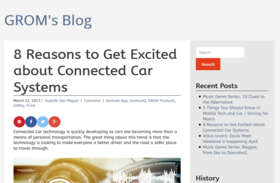 8 reasons to get excited about connected car systems %e2%80%93 grom s blog article