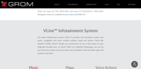 Grom audio   vline connected car infotainment system   smart dashboard article