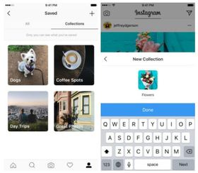 Instagram collections article