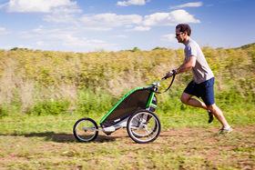 Thule chariot cheetah 2 jogging trail article