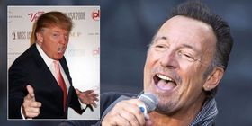 Donald trump and bruce springsteen article