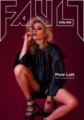 Pixie lott fault magazine cover article