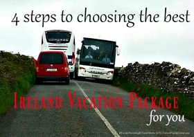 Choosing ireland vacation package article