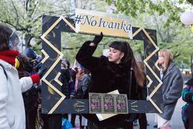 Ivanka trump gala protest body image 1493287185 article