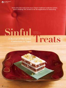 Sinful treats p40 article