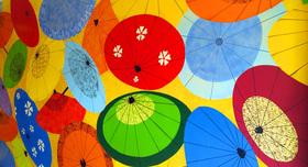 Umbrella mural   med article
