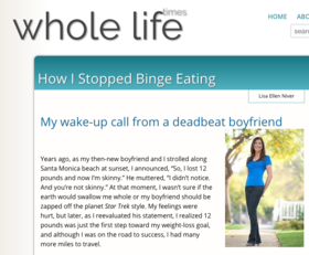Niver whole life times binge eating article