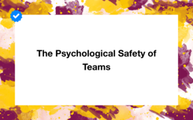 Safety of teams article