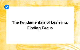Finding focus article