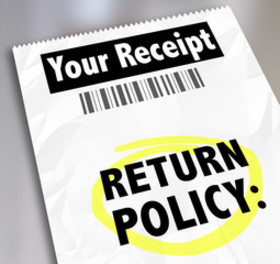 Ecommerce return policy article