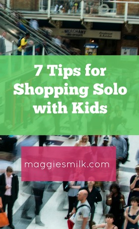 Shopping solo article