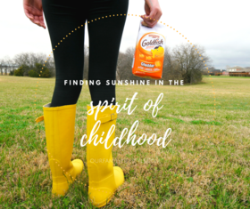 Finding sunshine in the spirit of childhood   fb article