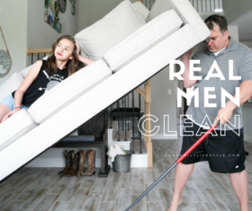 Real men clean   fb article