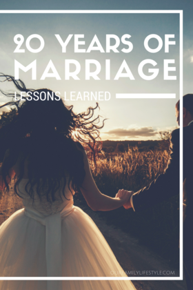 Lessons learned after 20 years of marriage article