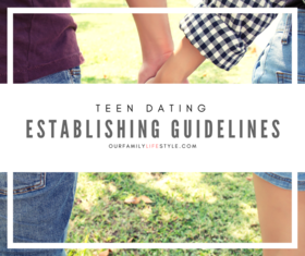 Teen dating   establishing guidelines   fb article