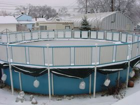 Swimming pool above ground article