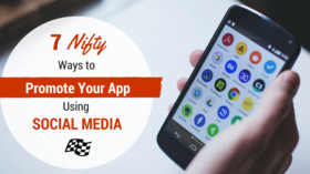 Promote app on social media article