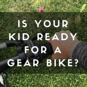 Geared bikes for kids article