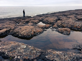 Fullgrownman on shoreline article