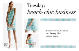 Beachy dress article