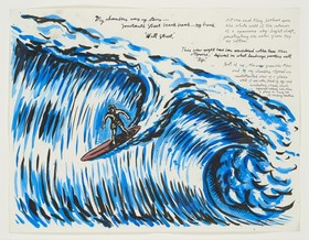 Pettibon are your motives pure 2005 my chambers unframed  622x485 article