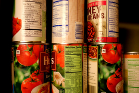 Canned foods article