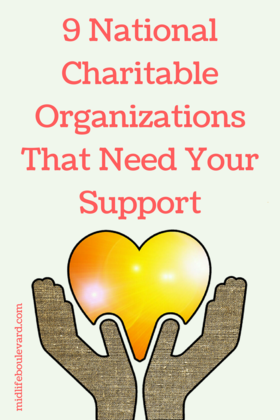 9 national charitable organizations that need your support article
