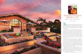 Rancho valencia article