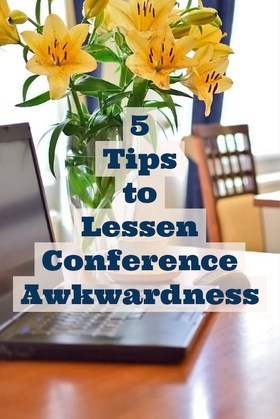 5 tips to lessen conference awkwardness article